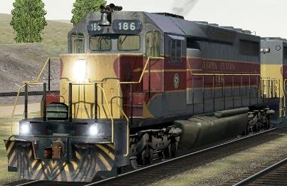 AC SD40 #186