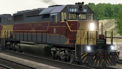 AC SD40 #188