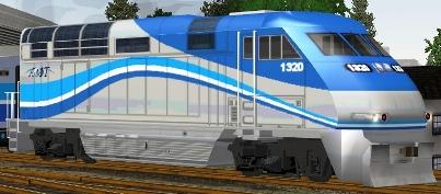 Agence Metropolitaine De Transport F59PHI #1320