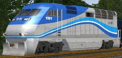 Agence Metropolitaine De Transport F59PHI #1321