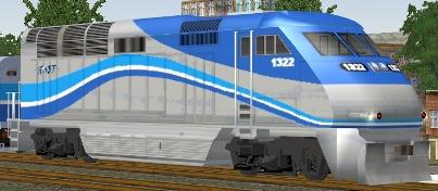 Agence Metropolitaine De Transport F59PHI #1322