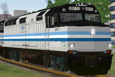 Titan Transit F40PHR #287