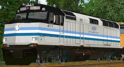 Titan Transit F40PH #411