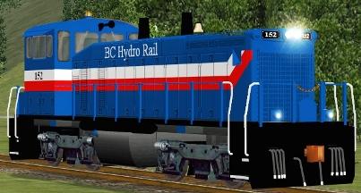 BC Hydro MP15DC #152
