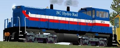 BC Hydro MP15DC #153