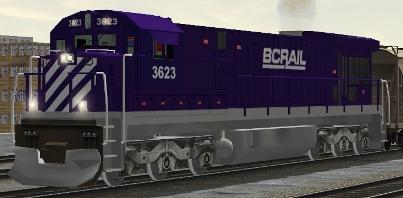 BC Rail C36-7 #3623