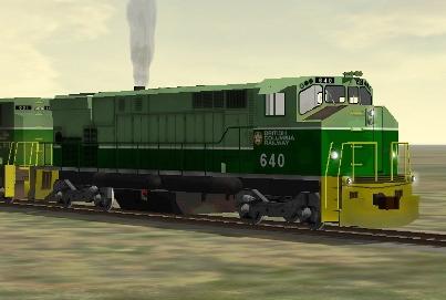 BC Rail M-420W #640