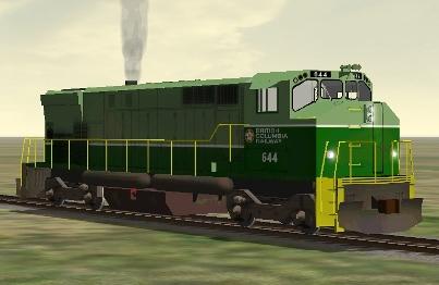 BC Rail M-420W #644