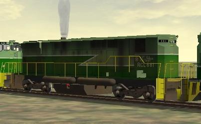 BC Rail M-420W #681
