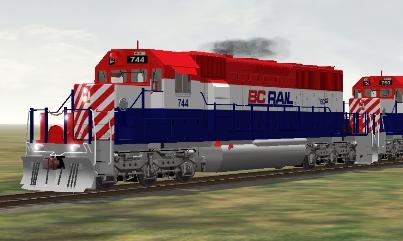 BC Rail SD40-2 #744 (bcrsd40m.zip shown)