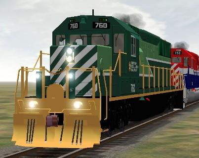 BC Rail SD40-2 #760 (bcrsd40m.zip shown)