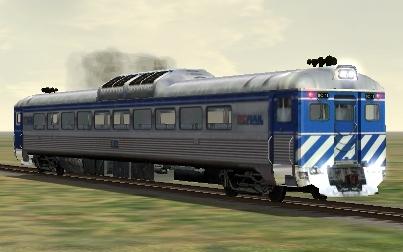 BC Rail RDC-1 #BC-11