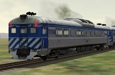 BC Rail RDC-1 #BC-12