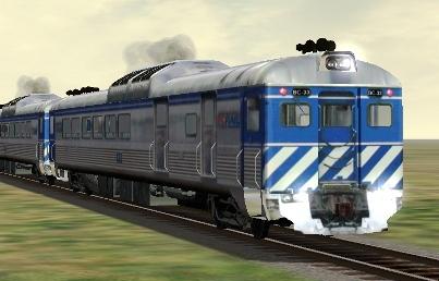 BC Rail RDC-1 #BC-33