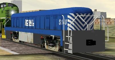 BC Rail RS-3 Slug #S-140