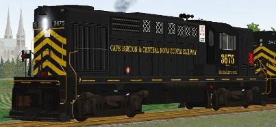 Cape Breton & Central Nova Scotia RS-18 #3675