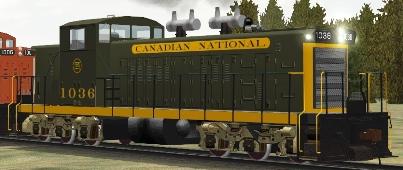 CN GMD1 #1036