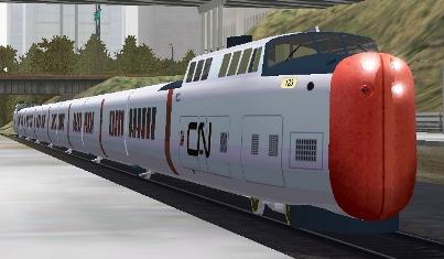 CN UA Turbo Train #123