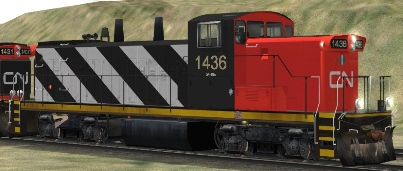 CN GMD1u #1436