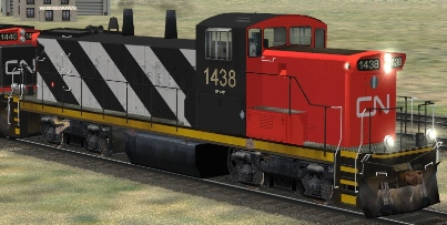 CN GMD1u #1438