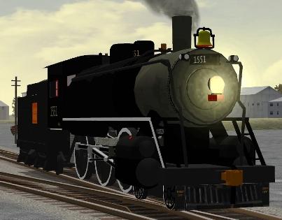 CN 4-6-0 #1551
