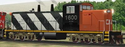 CN GMD1u #1600
