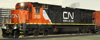 CN C41-8 #2123