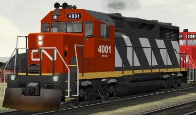 CN GP35 #4001
