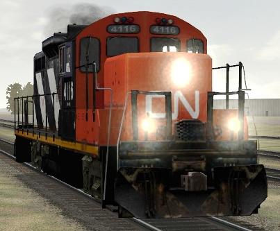 CN GP9rm #4116