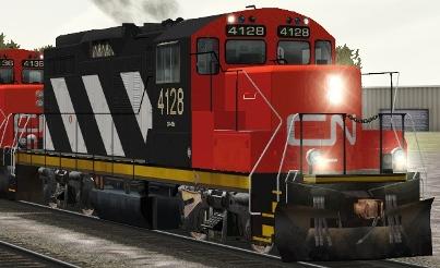 CN GP9rm #4128