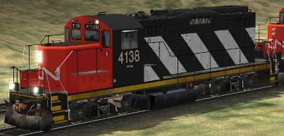 CN GP9rm #4138