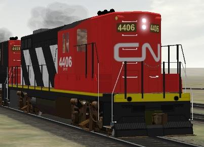 CN GP9 #4406