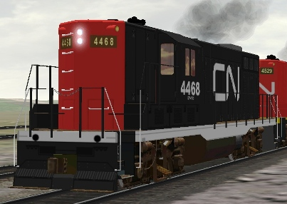 CN GP9 #4468