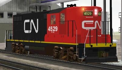 CN GP9 #4529