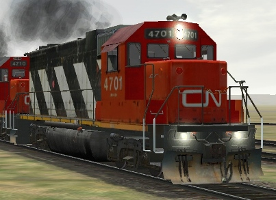 CN GP38-2 #4701