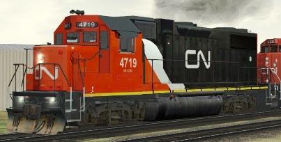 CN GP38-2 #4719