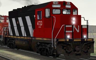 CN GP38-2 #4723