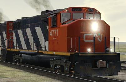 CN GP38-2(W) #4771