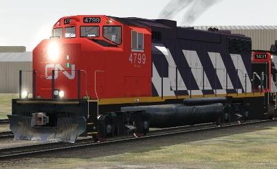CN GP38-2(W) #4799