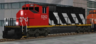 CN SD40-2(W) #5262