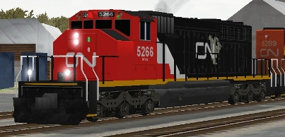 CN SD40-2(W) #5266 (cn5266.zip shown)