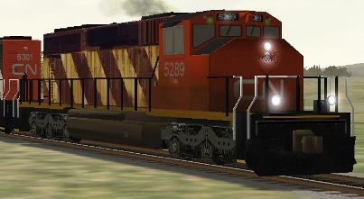CN SD40-2(W) #5289