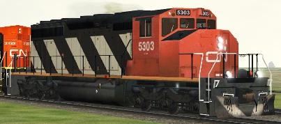 CN SD40-2(W) #5303