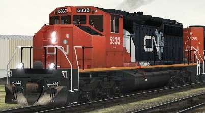 CN SD40-2(W) #5333