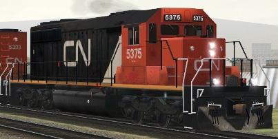 CN SD40-2 #5375
