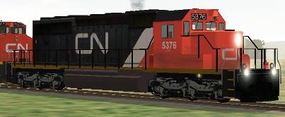 CN SD40-2 #5376