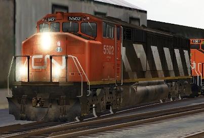 CN SD50AF #5502