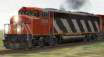 CN SD60F #5506