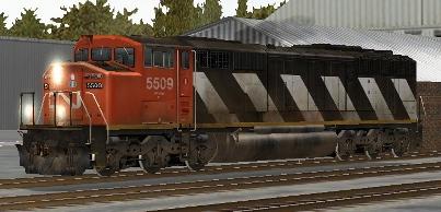 CN SD60F #5509