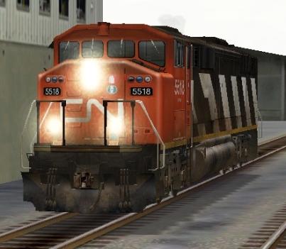 CN SD60F #5518
